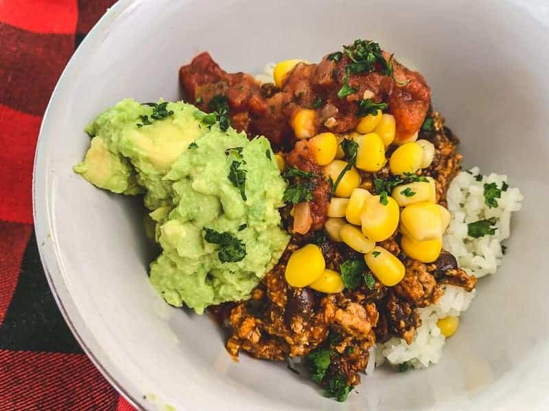 Better than Chipotle, homemade vegan burrito bowl