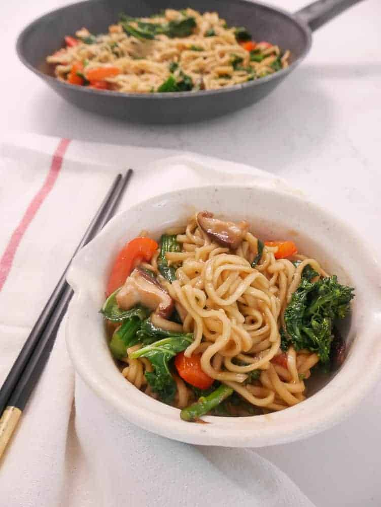 Vegan Stir Fry Noodles