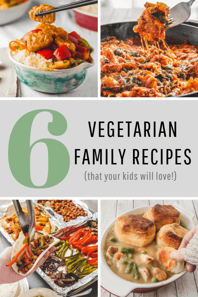6 vegetarian family recipes