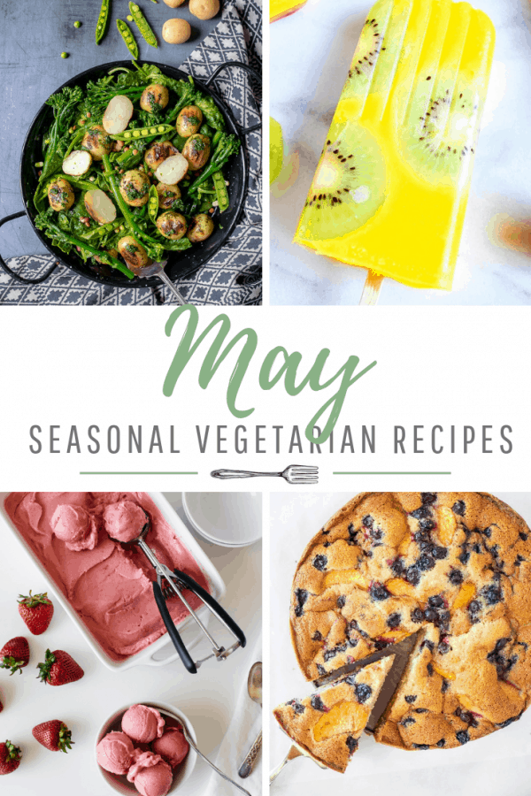 May Produce: 16 Fresh Vegetarian Recipes
