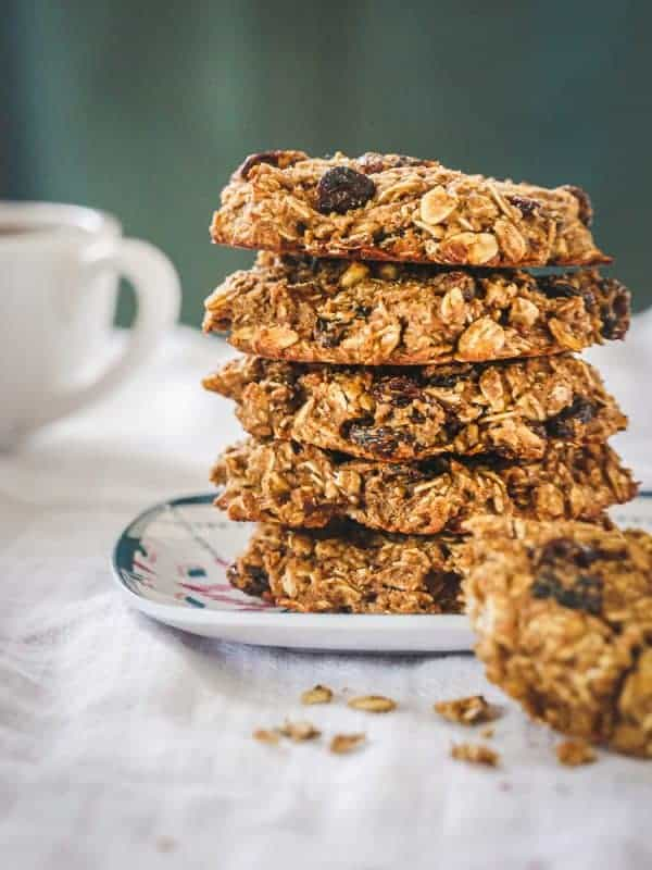 Oatmeal Raisin Breakfast Cookies with Protein