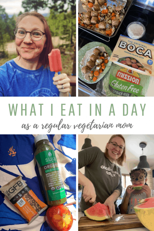 Here's What I Eat In a Day as a Regular Vegetarian Mom